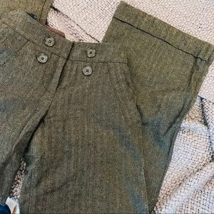 NEW Wool Blend Wide Leg Dress Pants